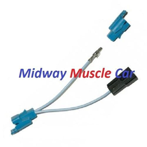 blinker tach tachometer turn signal feed wiring harness 67 chevy chevelle |  midway muscle car