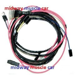 Enjoyable Chevy Electrical Wiring Harness Midway Muscle Car Wiring Digital Resources Apanbouhousnl
