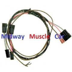 Tachometer wiring harness 66 Chevy Chevelle el camino kneeknocker tach
