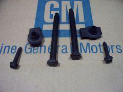 GAS TANK STRAP HARDWARE mount kit 68 69 71 72 GTO 442 GS chevelle pontiac