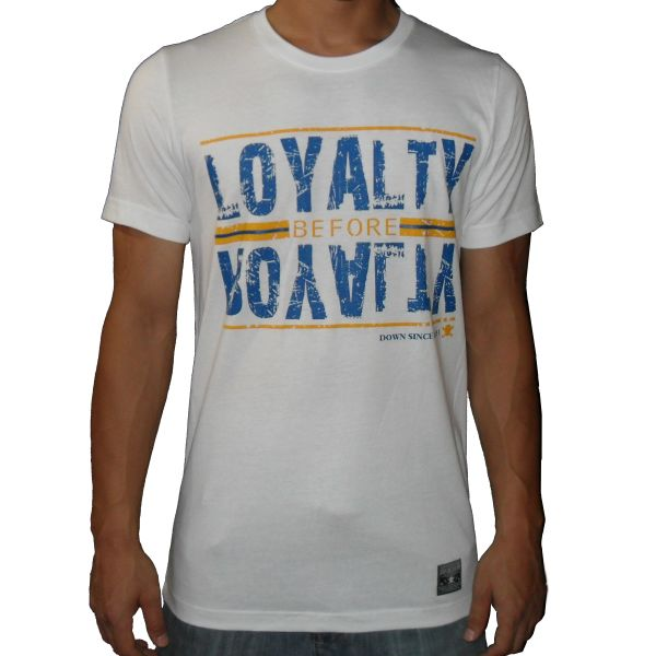Loyalty Before Royalty Blue/Gold