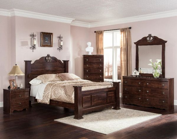 Ariana Bedroom 4pc Set Mattress Amp More
