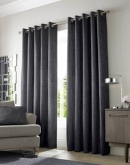 Beautiful Academy lined eyelet curtains colour options