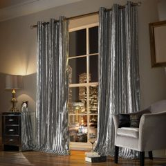 Stunning Kylie at home Iliana eyelet curtains - colour options