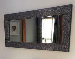 Stunning The Glitter Furniture Company crackle Glitter mirror large - colour options
