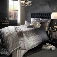 Beautiful Kylie at Home Gia slate bedding
