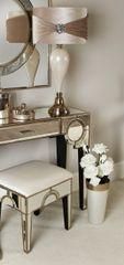 Beautiful Hollywood antique mirror stool