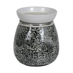 midnight mosaic electric wax melt burner -14cm