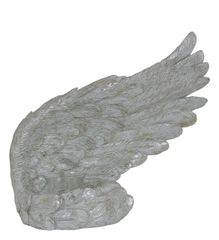Beautiful Mother of pearl Angel wing tealight candle holder - right wing