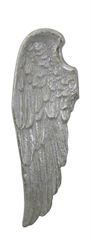 Simply stunning Mother of pearl wall mounted Angel wing - left wing 105.5cm tall