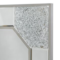 Stunning mirror and Mosaic collection wall mirror champaign frame