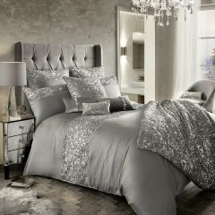 Beautiful Kylie at Home Cadence silver Bedding