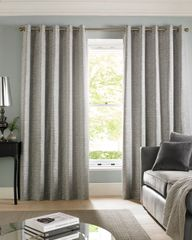 Beautiful Cairo lined eyelet curtains - colour options