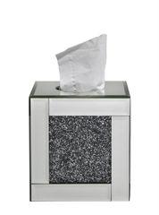 Stunning crushed sparkle tissue box holder