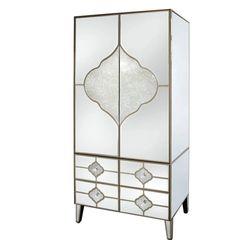 Beautiful Dubai collection 2 door - 3 drawer mirror wardrobe