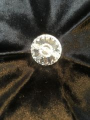 Stunning crushed velvet with Swarovski crystal button scatter cushion - colour options