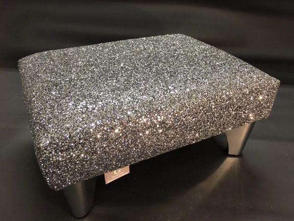 Grey Glitter Glitter Furniture Glitter Fabric