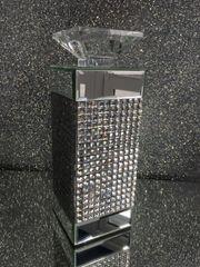 beautiful mirror candle holder - medium