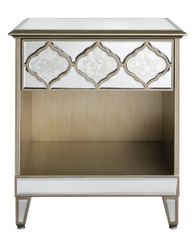 Beautiful Dubai collection 1 drawer bedside cabinet