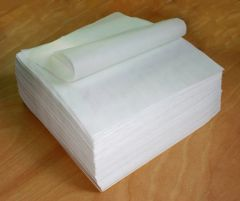 tamale parchment paper wrap; smooth sheet, white, small, rectangle, 6 in X 8 in; case of 2,000