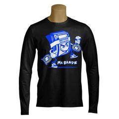"Mr. Bandz FCA Men's Long Shirt ""Glow in the Dark Logo"" S - XXXL"
