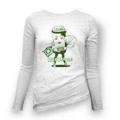 "KeKe Bandz FCA Women's Long Shirt ""Glow in the Dark Logo"" XS - XXL"