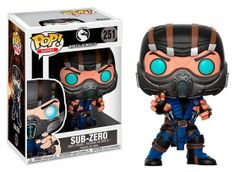 Mortal Kombat X Sub Zero 251 Funko Pop