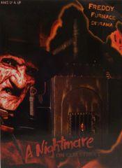 Nightmare on Elm Street Freddy's Furnace Diorama