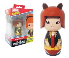 Squirrel Girl Whittles Wooden Doll SDCC Convention EE Exclusive Figure