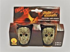 Friday The 13th Jason Voorhees Plastic Shot Glass Set