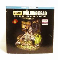 The Walking Dead Limited Edition Tree Zombie 4th Season Blu-Ray DVD Set