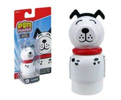 Pin Mates Luckee The Dog SDCC EE Exclusive First of Red Series Wood Collectable
