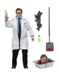 Herbert West Re-Animator Clothed Action Figure