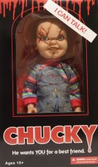 "Chucky Scarred Mega Scale 15"" Talking Figure"