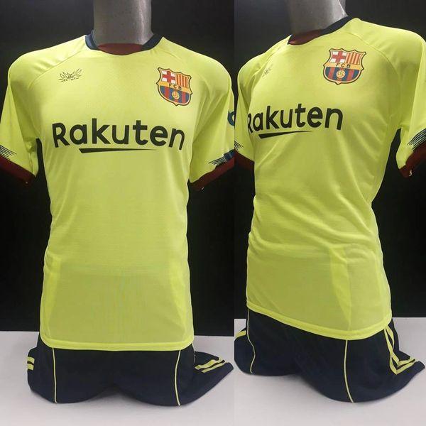 Uniforme Estampado Barcelona Amarilla 18-19 329beaacd5ef9