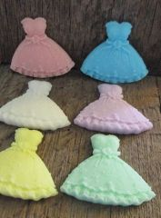 herbgarden shea butter princesswedding dress soap favors bulk