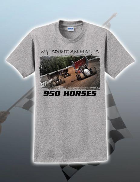effbcb228 MY SPIRIT ANIMAL 950 HORSES T-SHIRT