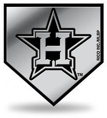 Houston Astros Rico Chrome Molded Emblem