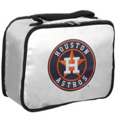 Houston Astros Lunchbreak Insulated Lunch Box - White