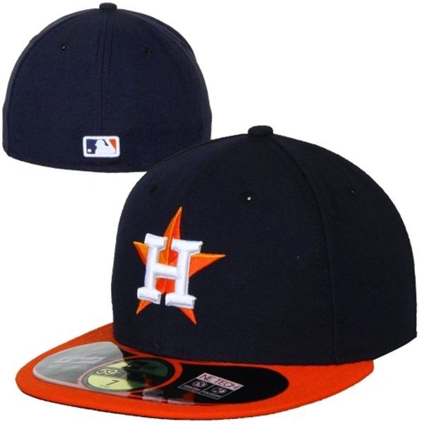 buy popular b8e18 1c920 get new era houston astros 59fifty authentic on field performance fitted hat  navy blue orange 2aed2