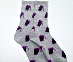 UCOG Streetwear Socks Cup Grey