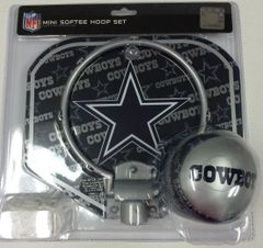 Dallas Cowboys Mini Softee Hoop Set