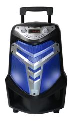 "Iron 6.5"" Rechargeable Portable Party Speaker"