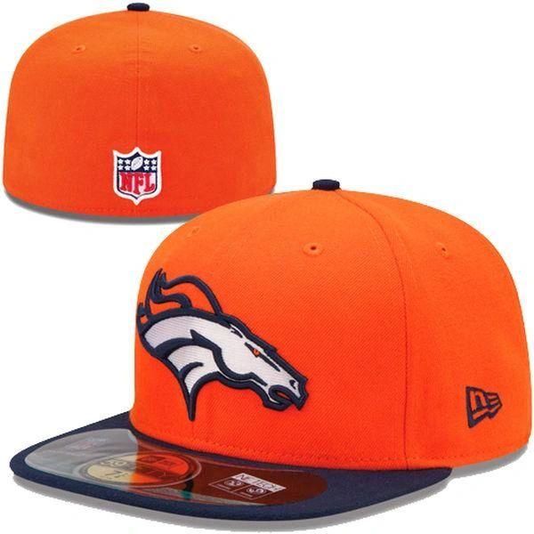 c839009f998 ... where can i buy denver broncos new era orange navy blue on field player  sideline 59fifty