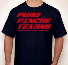 PuroPincheTexans.com Fan T-Shirt Red/Navy
