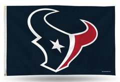 Houston Texans 3 X 5 Navy Rico Banner Flag