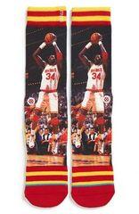 Houston Rockets Hakeem Olajuwon Stance NBA Legends Socks L/XL