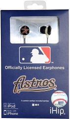 Houston Astros iHip EarBuds Headphones
