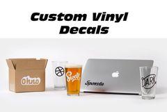 Custom Vinyl Decals & Stickers