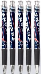 Houston Texans Jazz Pens - 5 Pack Writing Instruments